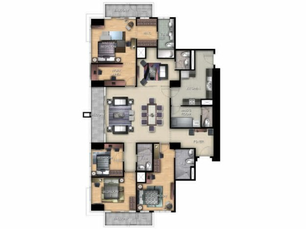 Exec. Four Bedroom