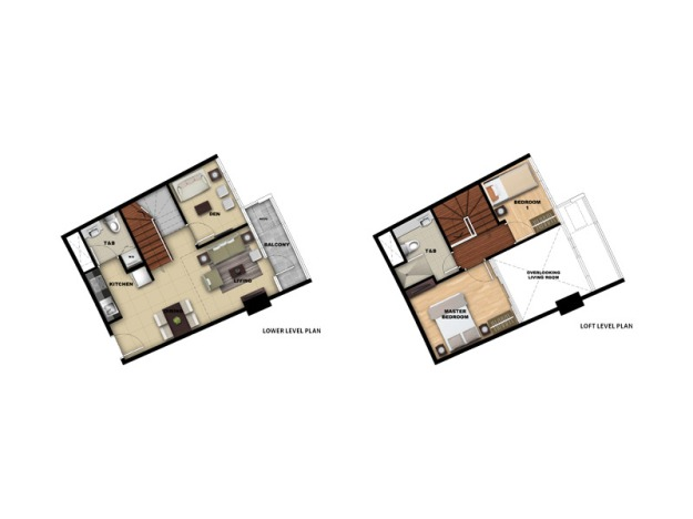 Loft Type (Two Bedroom)