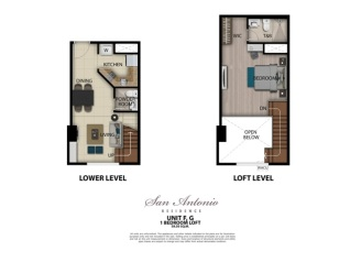 Units GF- Exec. Studio 58.5 sq.m.